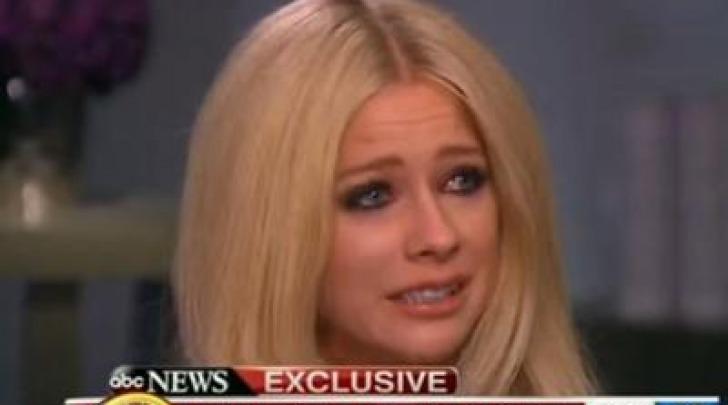 Avril Lavigne da video