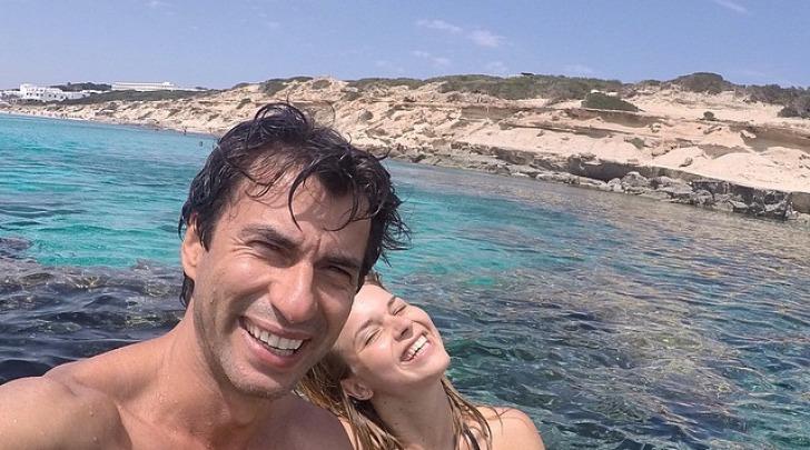 Kledi Kadiu e Charlotte Lazzari su instagram