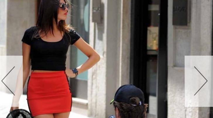Valerio Staffelli regista per la figlia Rebecca su instagram