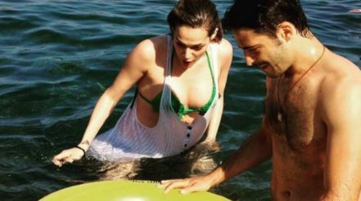 Laura Chiatti Marco Bocci e Enea al Mare su Instagram