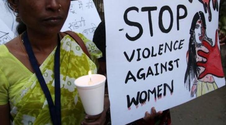 violenza sulle donne indiane - foto da twitter