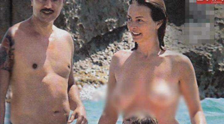 Violante Placido in Topless