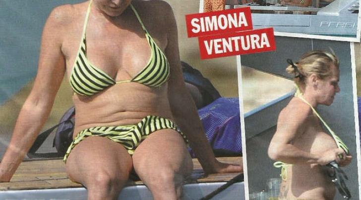 Simona Ventura, estate (Chi)
