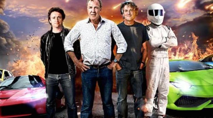 Jeremy Clarkson, Richard Hammond, James May e Stig