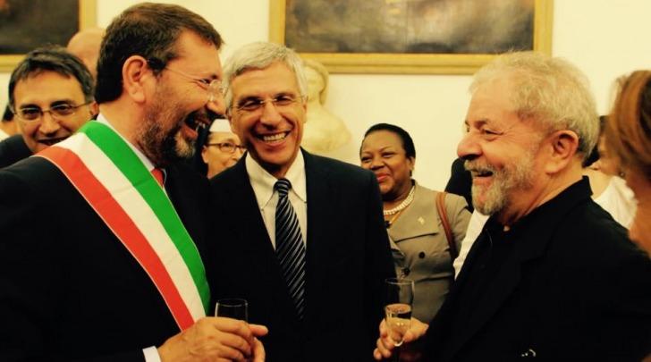 Ignazio Marino e Luigi Nieri da facebook