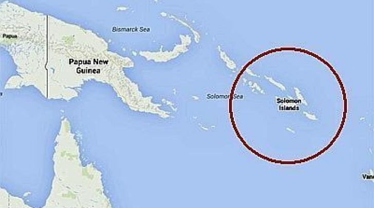 Isole Salomone Terremoto