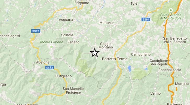 cartina sismica
