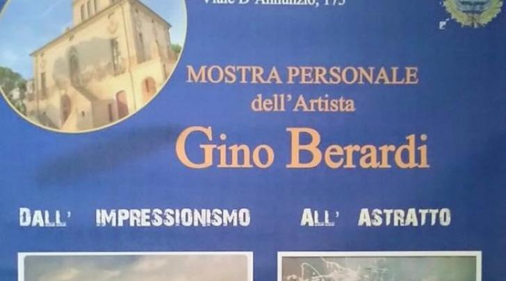 Mostra personale dell'artista Gino Berardi: dall'impressionismo all'astratto