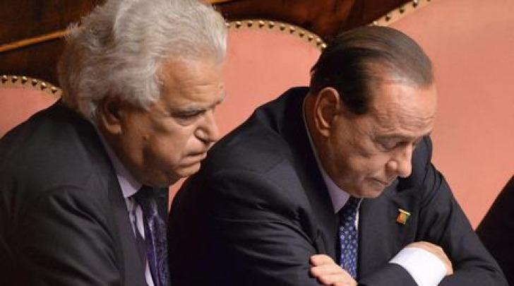 Silvio Berlusconi e Denis Verdini
