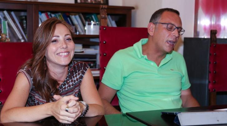 Marco Alessandrini e Laura Di Pietro