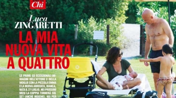 Luca Zingaretti e Luisa Ranieri bianca ed emma