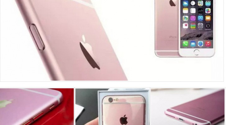 iPhone 6s Rosa Oro