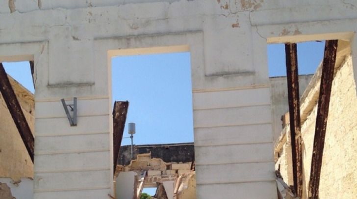 Crollo Edificio a Santa Maria Di Leuca