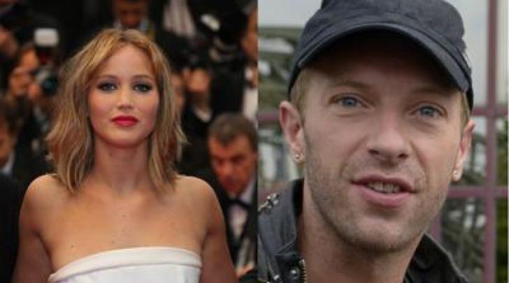 Jennifer Lawrence e Chris Martin