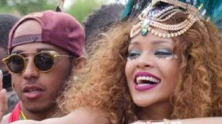 Lewis Hamilton e Rihanna