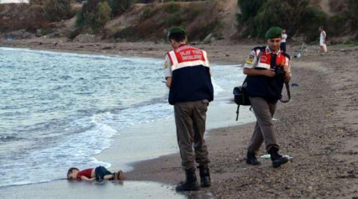Il Bambino Siriano Morto a Budrum in Turchia