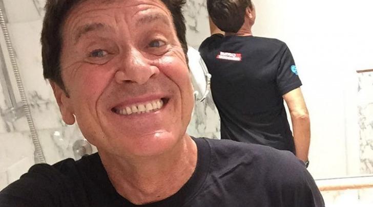 Gianni Morandi - foto da instagram