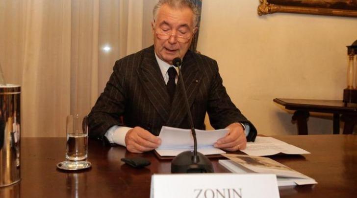 Gianni Zonin, Presidente della Banca Popolare di Vicenza