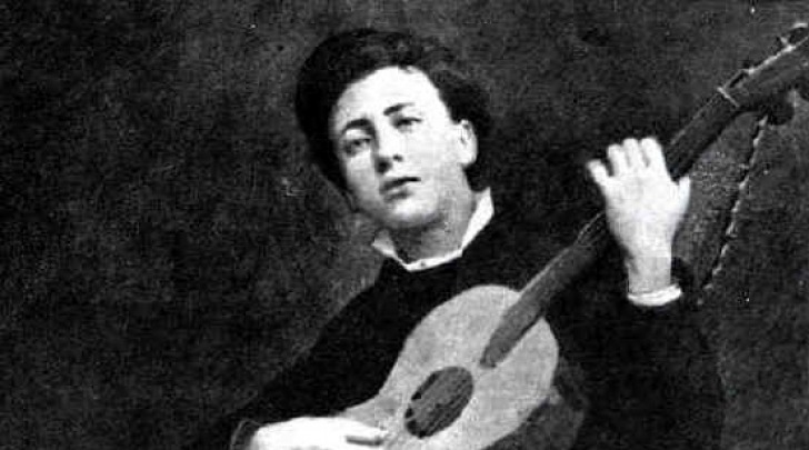 Gabriele d'Annunzio adolescente