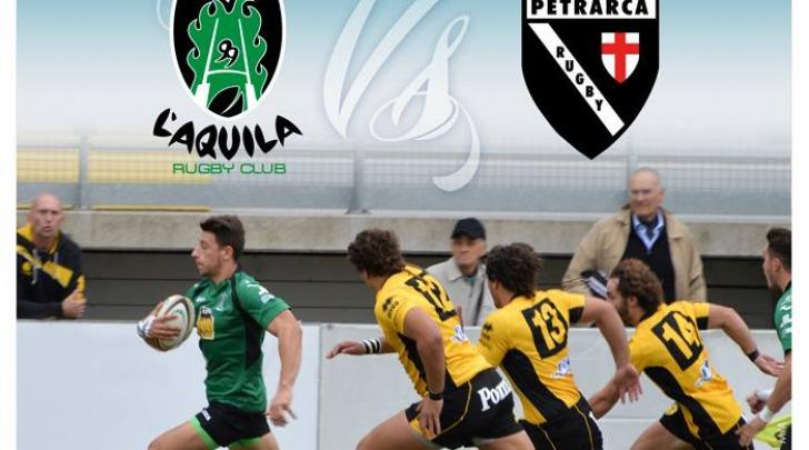Incontro rugby L'Aquila-Petrarca