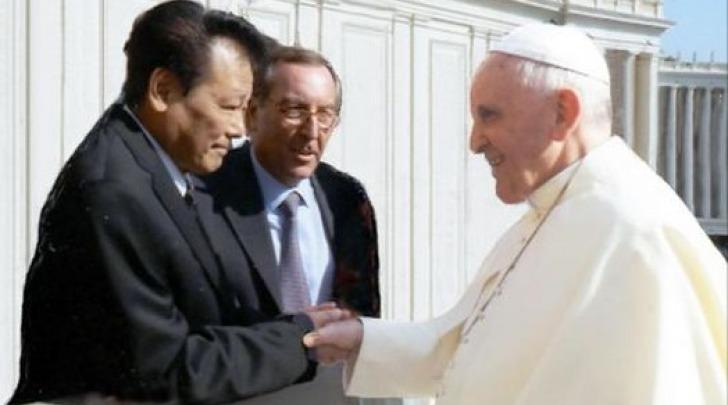 Il Dott. Takanori Fukushima incontra il Papa