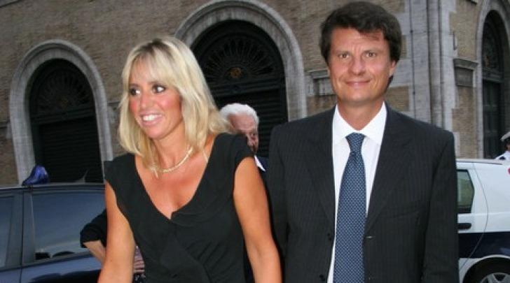 Mauro Floriani e Alessandra Mussolini