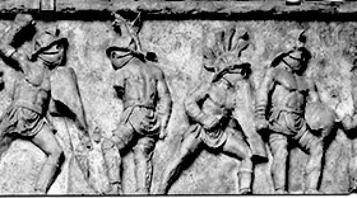 fregio del monumento funerario di Lusius Storax