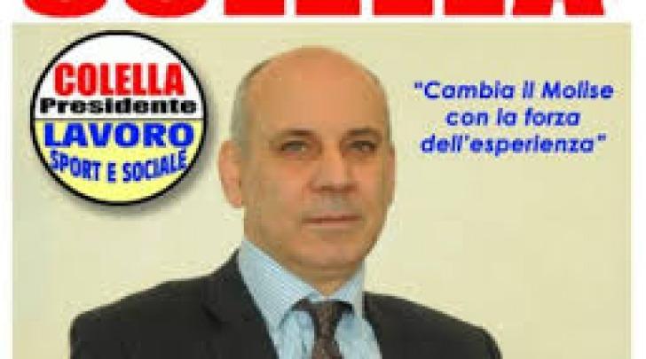 Manifesto elettorale Colella