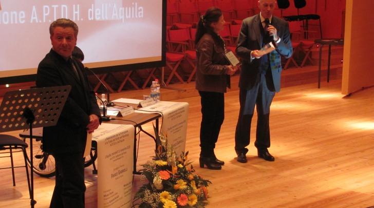 Cerimonia premio Solidarietà