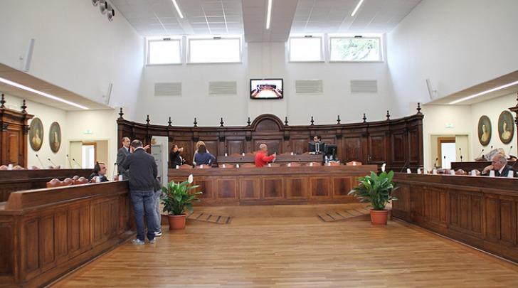 Sala Consiglio comune l'Aquila