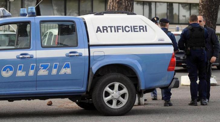 Artificieri polizia stato