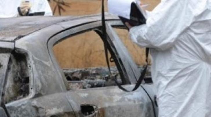 auto carbonizzata