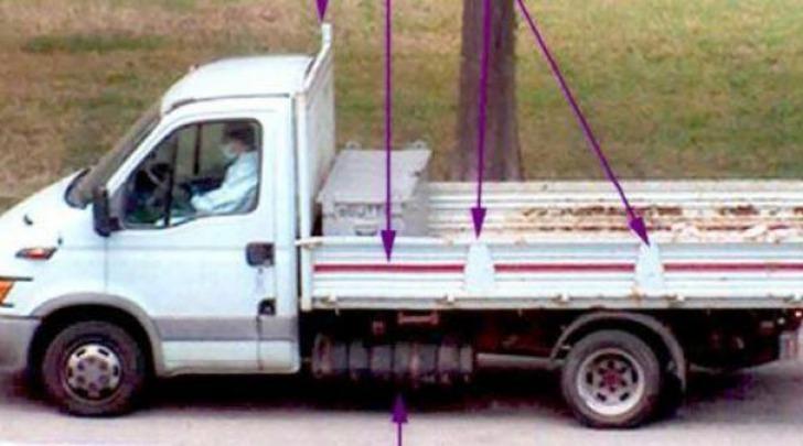 fotogramma furgone