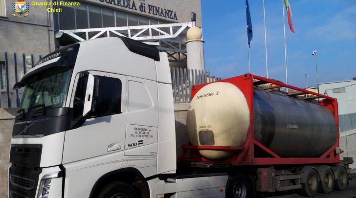 contrabbando carburante