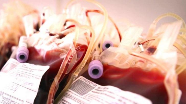Sacche sangue per trasfusioni