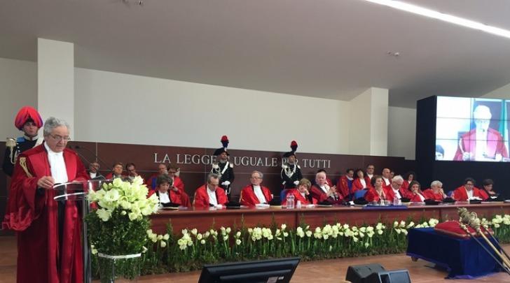 Cerimonia apertura anno giudiziario 2016