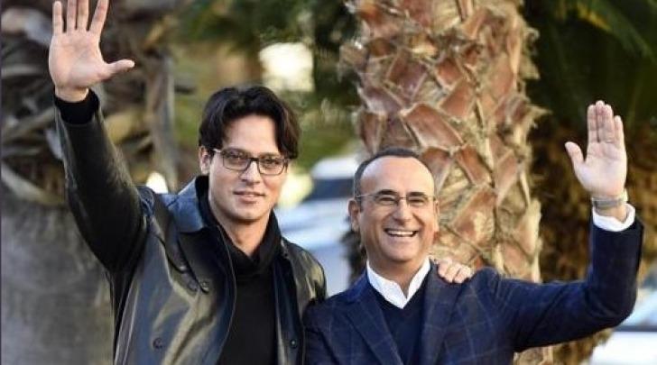 Gabriel Garko e Carlo Conti