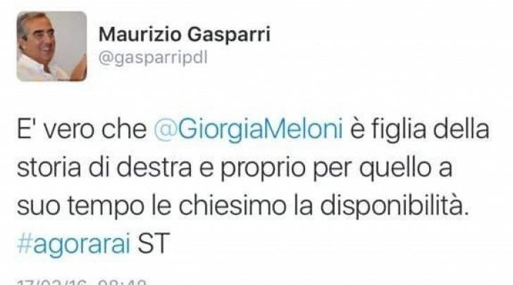 "Gasparri gaffe ""Chiesimo"""