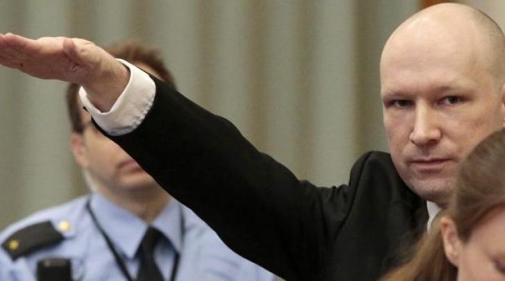 Anders Behring Breivik, autore delle stragi di Oslo e Utoya nel luglio 2011