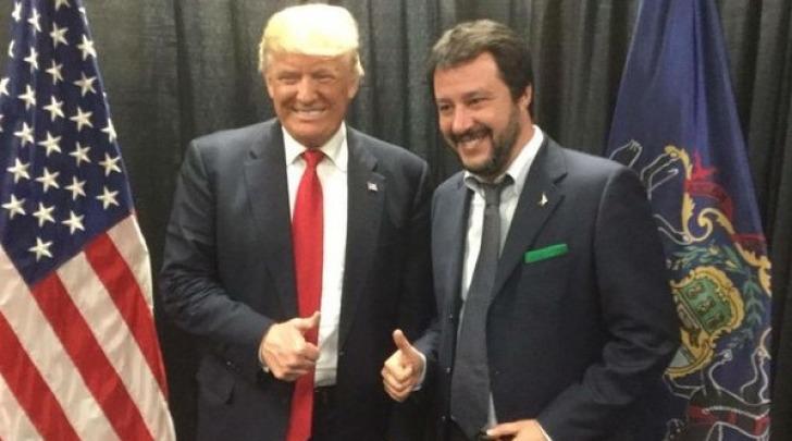 Matteo Salvini e Donald Trump