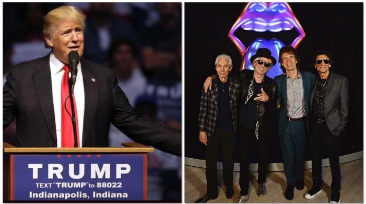 Trump - Rolling Stones