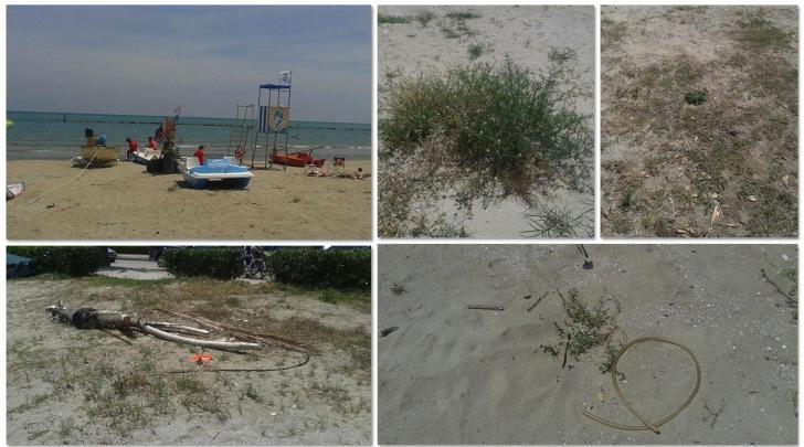 Spiaggia libera Villa Rosa di Martinsicuro (TE)