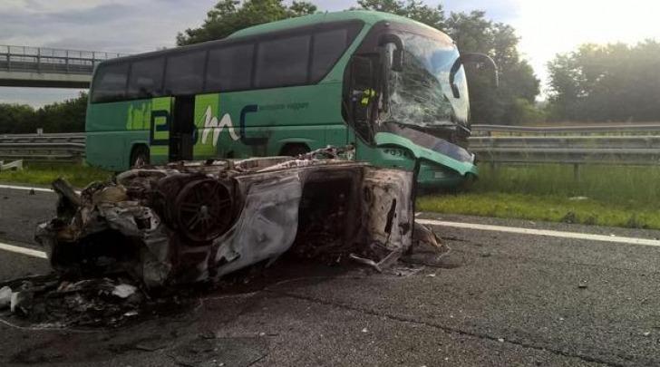 scontro sulla Torino-Savona, due morti