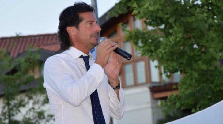 Il sindaco di Abano Terme, Luca Claudio - foto da fb