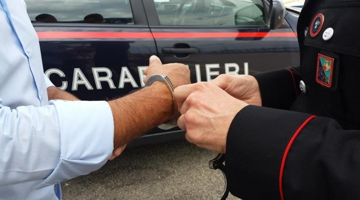 Carabinieri, arresto - foto di repertorio