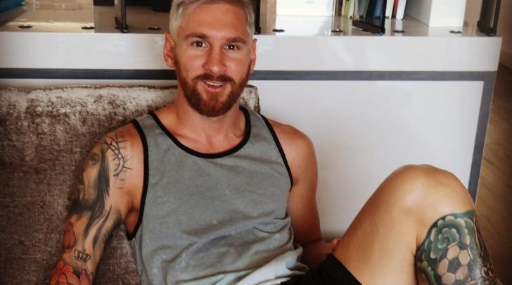 Cambio look per Lionel Messi