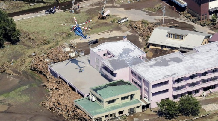 La residenza dove sono morti 9 anziani - foto Ansa