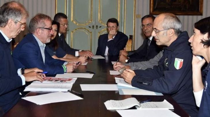 riunione in Prefettura a Rieti
