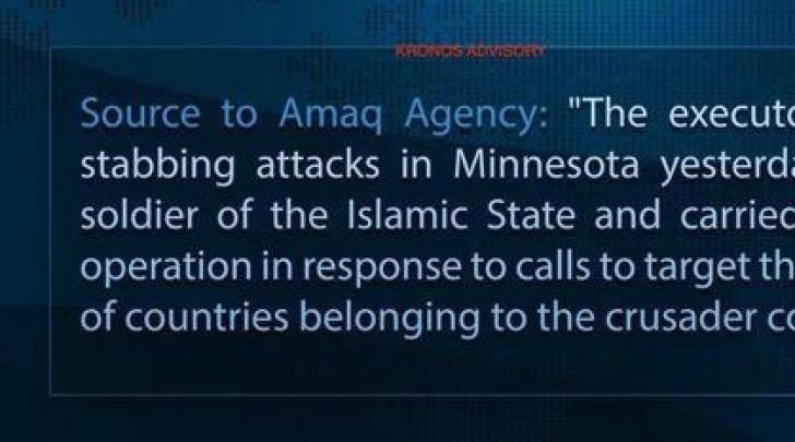 Isis rivendica attacco in Minnesota