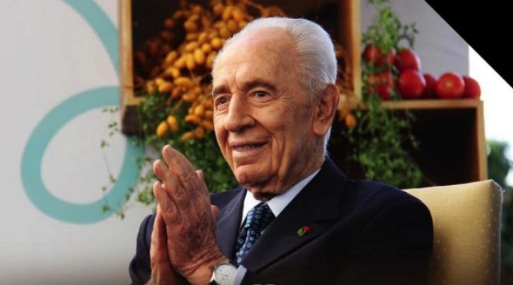 Shimon Peres - foto da twitter @PresidentPeres